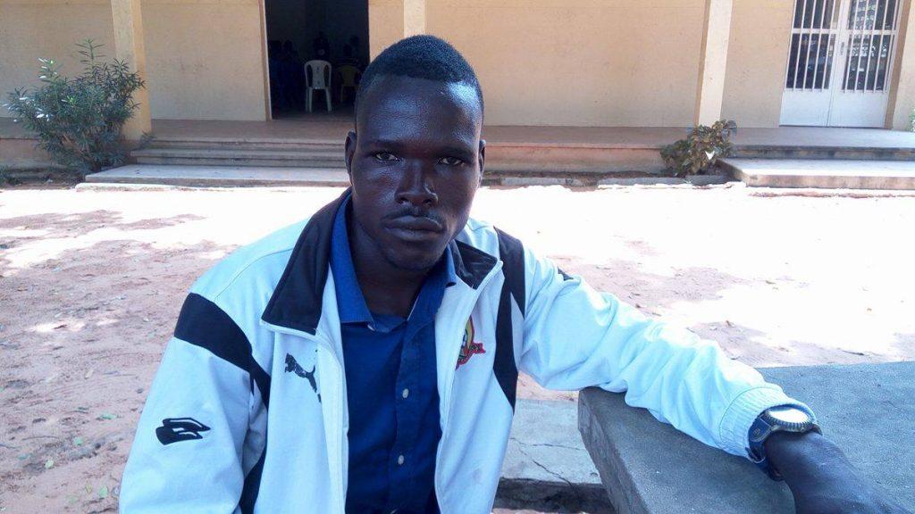 Badina Emmanuel, déplacé interne vivant à Banda. © Ebah Essongue Shabba