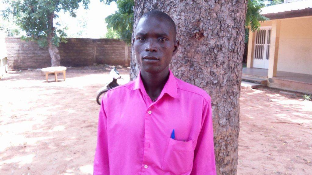 Bouzara Hahad, déplacé interne vivant à Touroua. © Ebah Essongue Shabba