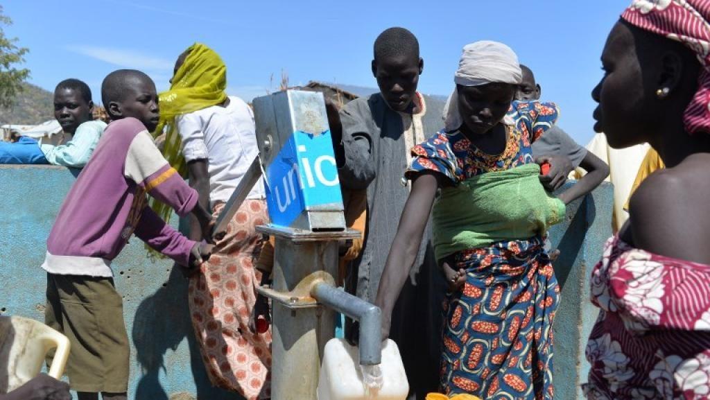 Refugiés au camp de Minawao. © Reinnier KAZE / AFP