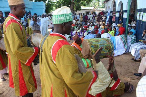 Griots du lamidat de Demsa lors d'une parade
